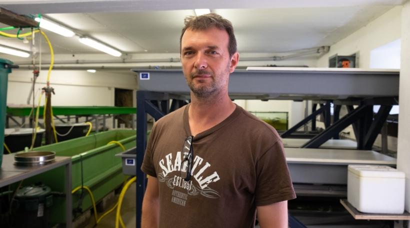 De Frank Thielen schafft zënter ronn zéng Joer fir d'Fondatioun natur & ëmwelt
