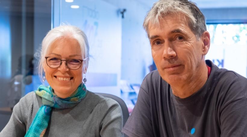 Michael Rofka a Florence Hoffmann