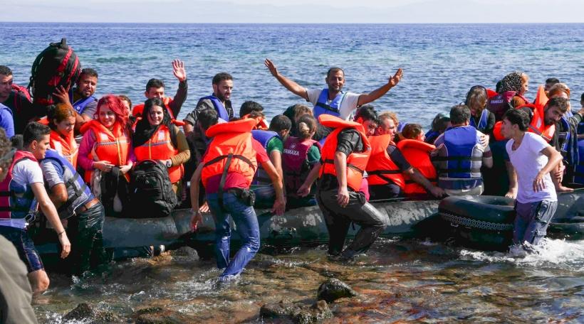 Boot zu Lesbos