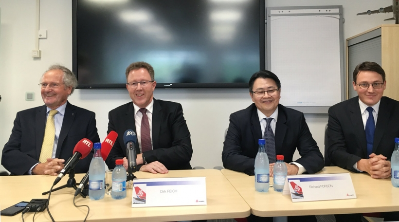 Pressekonferenz-Cargolux