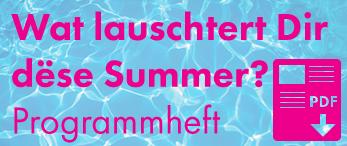 Programm Summer 2016