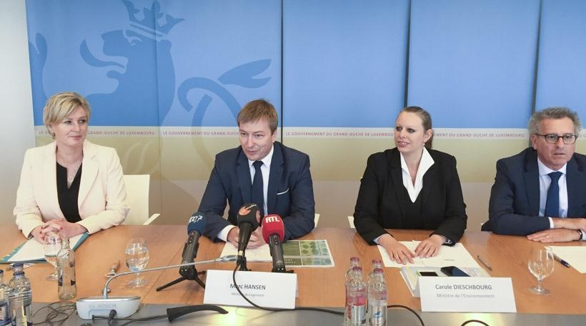 Klimabank Pressekonferenz