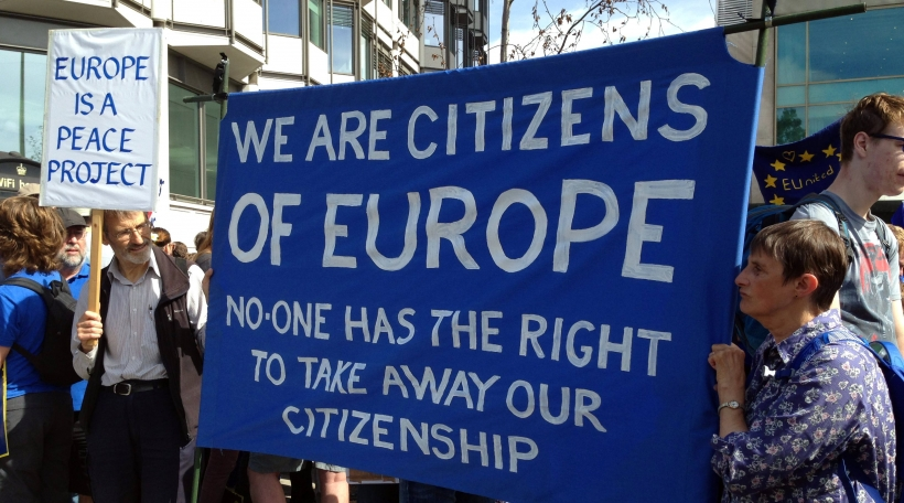 Pro-EU Manifestatioun London 3