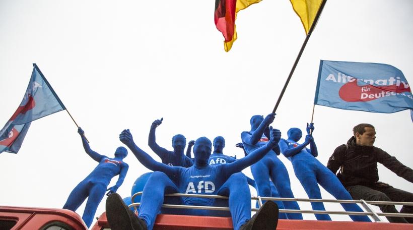 AfD-Supporteren