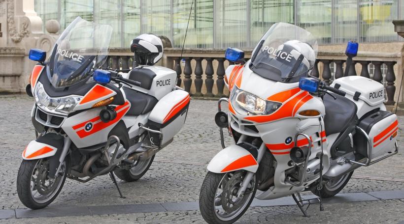 Police-Motorrieder