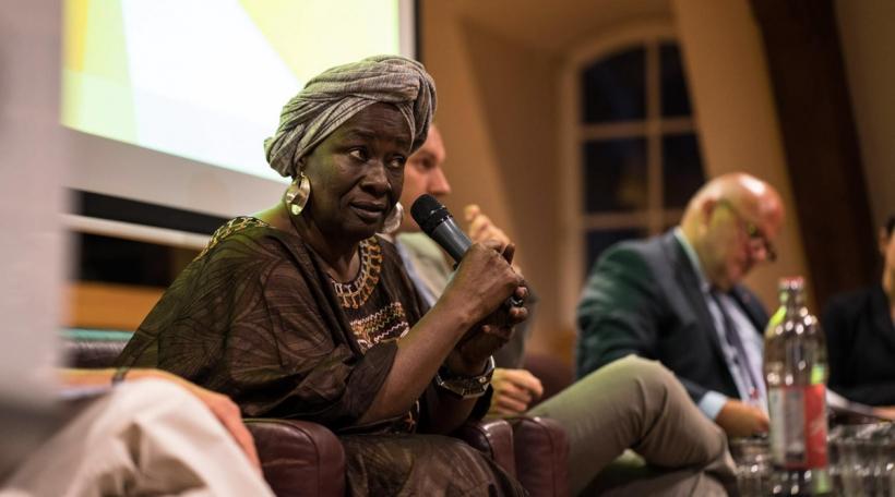 D'Aminata Traoré. Foto: Sven Becker