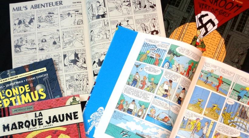 Dem Tintin seng Kollegen