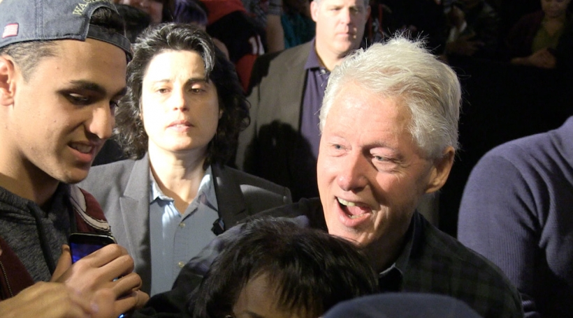 De Bill Clinton zu Aliquippa