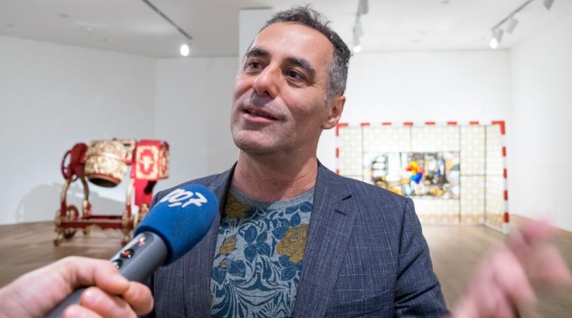 Enrico Lunghi am Mudam
