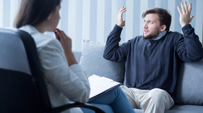Beim Psycholog