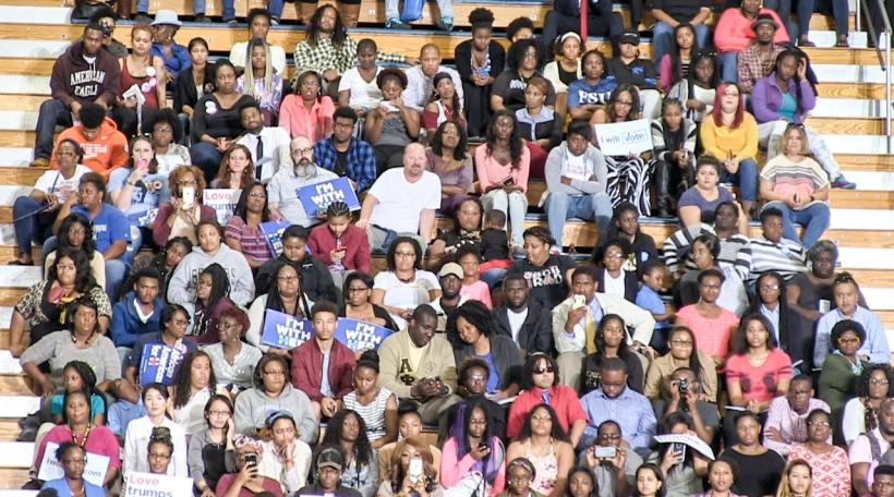 Am Public si virun allem Afro-Amerikaner