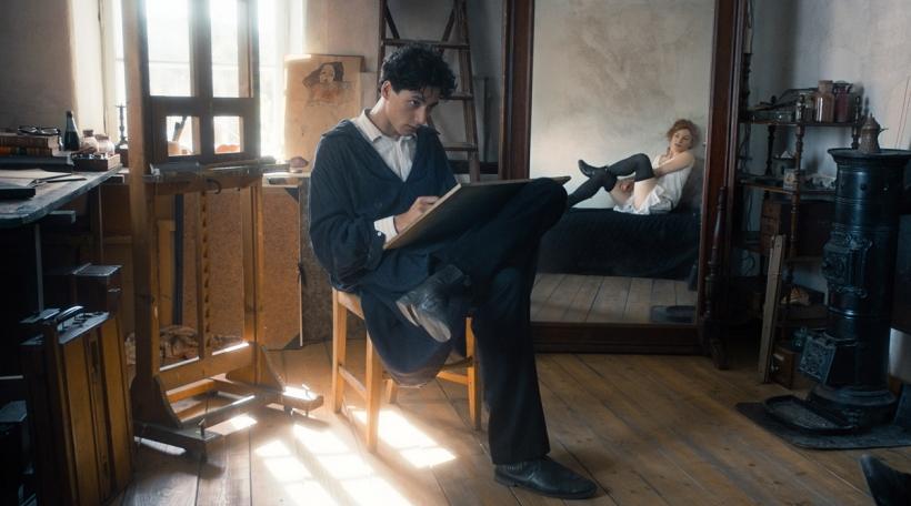 Egon Schiele. Tod und Mädchen