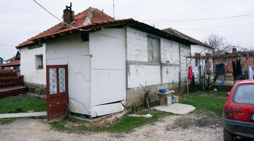 D'Famill Stević konnt bei hirem Retour zeréck an hiert Haus
