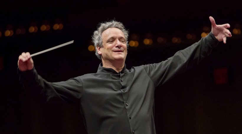 Louis Langrée, conductor, Mostly Mozart Festival Orchestra Photo credit: © Jennifer Taylor