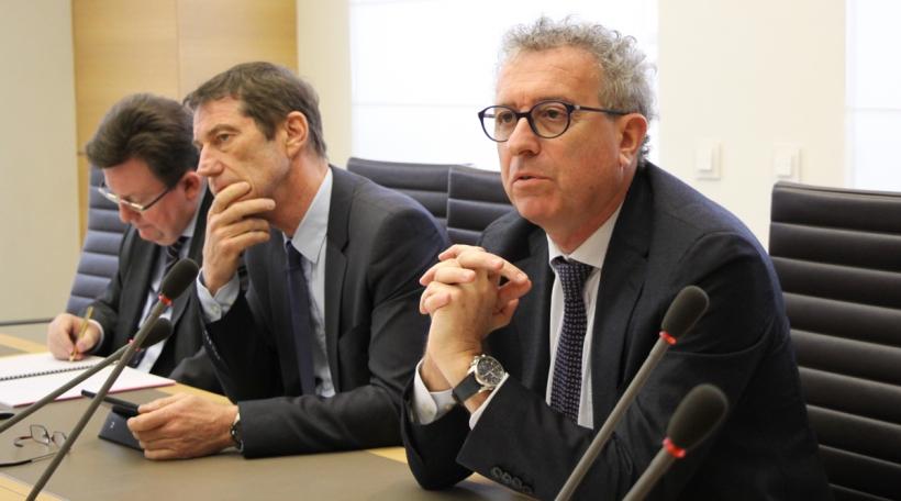 Pierre Gramegna (08.03.2017) - Finanzkommissioun Chamber