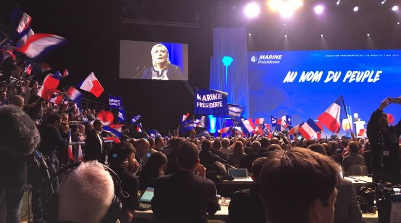 Marine Le Pen zu Metz