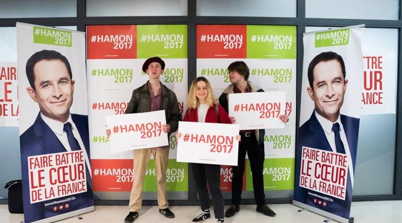Wahlcampagne Benoît Hamon