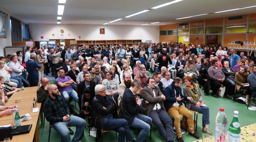 Informatiounsversammlung Lalléng