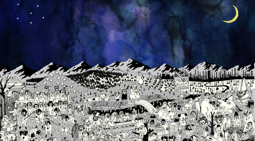 """Pure Comedy"" vum Father John Misty"