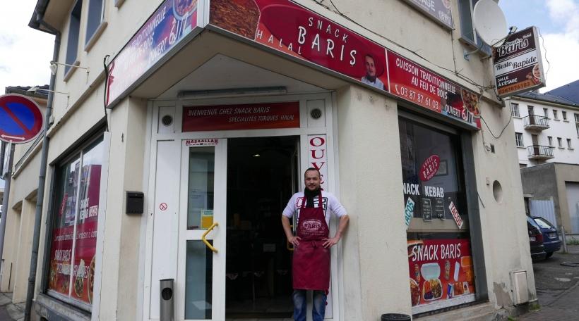 De Baris Desdemir viru sengem Kebab-Restaurant zu Forbach.
