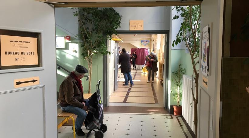 Wahlbüro zu Paräis