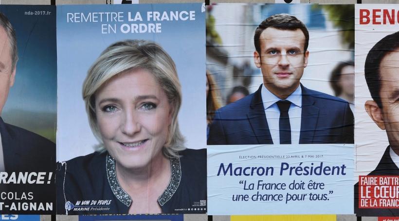 Le Pen & Macron