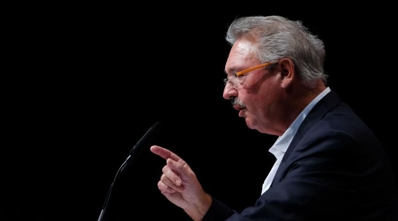 De Lëtzebuerger Ausseminister Jean Asselborn ass fir eng kloer Diskussioun (Foto: Peter Steffen))