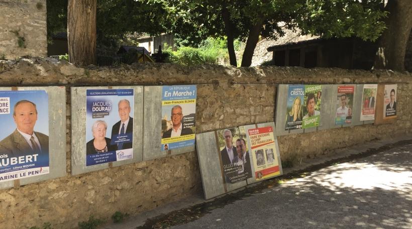 Legislativen 2017 a Frankräich