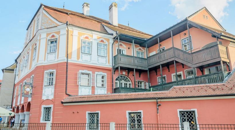 Casa Luxembourg zu Sibiu a Rumänien (Foto: Bigstock / ncristian )