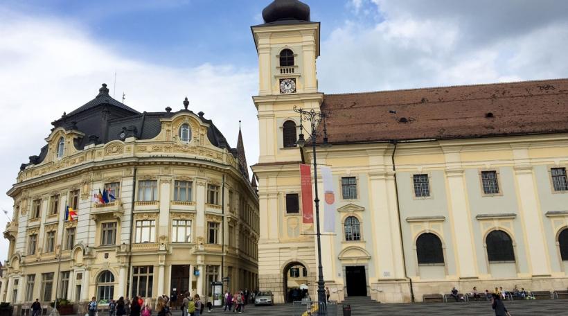 Sibiu a Rumänien
