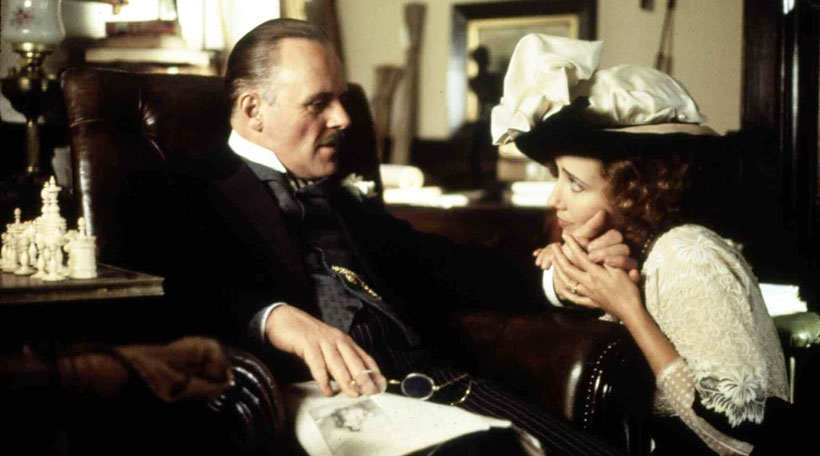 Anthony Hopkins an Emma Thompson an Howards End