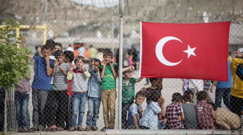 Ankara benotzt de Migratiouns-Accord als Drockmëttel (Foto: picture alliance / Uygar Onder Simsek / MOKU)