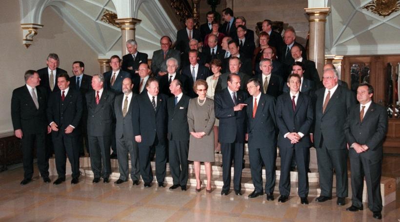 Beim Sommet vun de Staats- a Regierungscheffen zu Lëtzebuerg am Dezember 1997 gouf d'Tierkei als Kandidat deklaréiert (Foto: picture alliance / Tim Brakemeier)