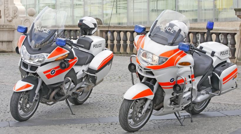 Motorrieder vun der Lëtzebuerger Police