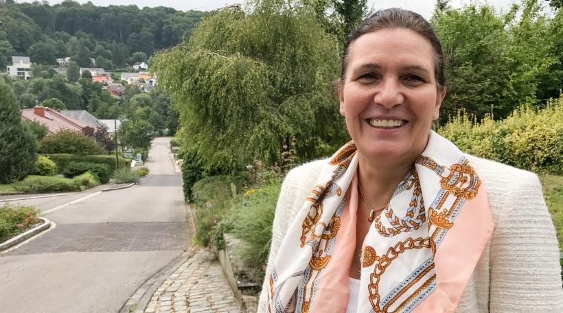 Astrid Mosel-Kneip, Schäffin zu Simmer