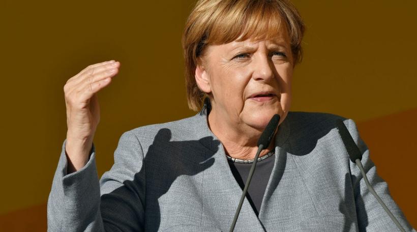 Angela Merkel zu Tréier