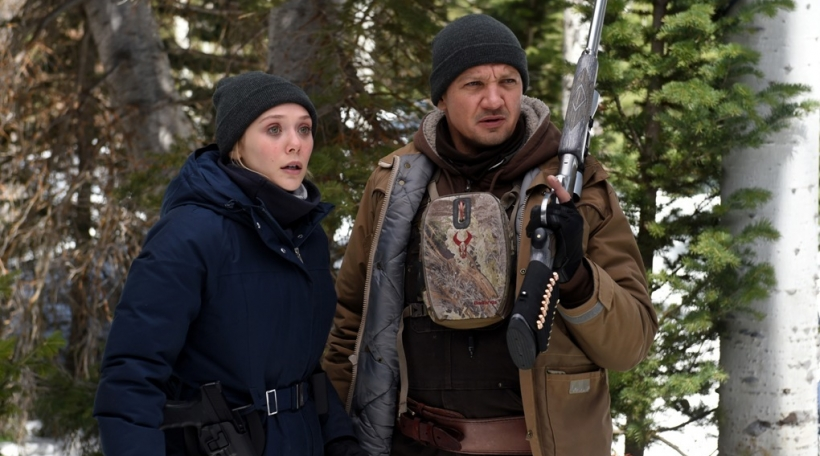 Elizabeth Olsen and Jeremy Renner star in Wind RiverPhoto: Fred Hayes�� 2017 The Weinstein Company. All Rights Reserved