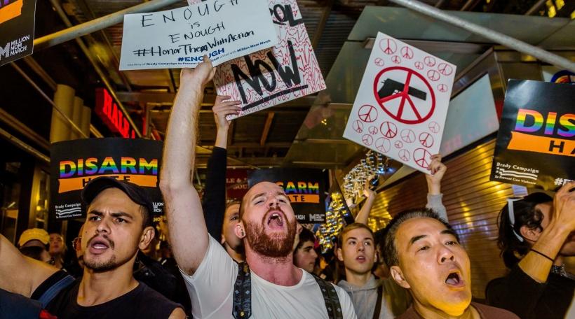 Demonstratioune fir nei Waffegesetzer
