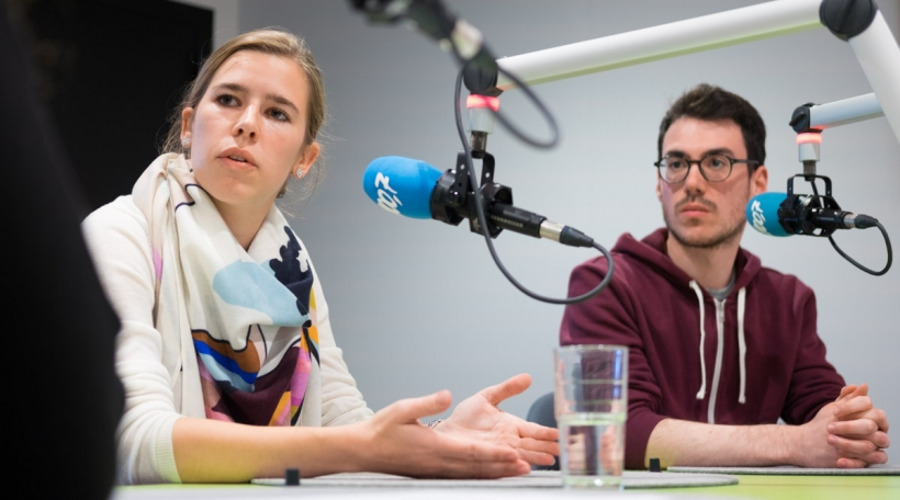 Elisabeth Margue a Fabio Spirinelli