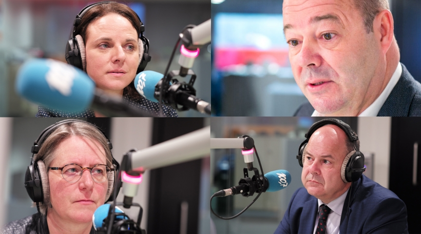 Table Ronde Corinne Cahen, Françoise Folmer, Marc Spautz & Claude Haagen