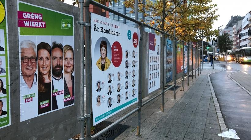Esch Wahlplakater