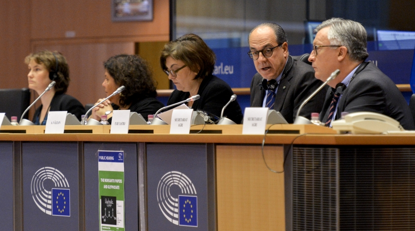 Glyphosat-Hearing-Europaparlament
