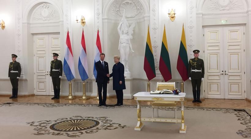 Staatsvisite a Litauen