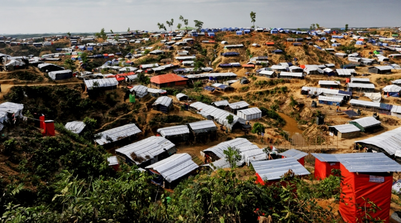Rohingya Camp am Bangladesch