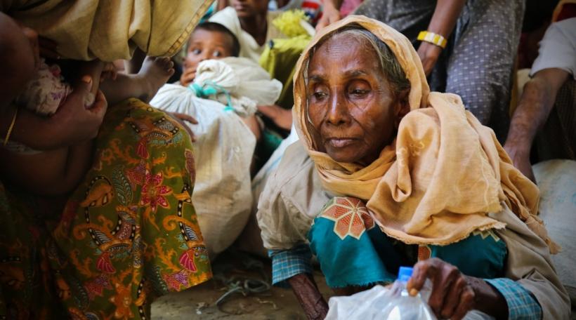 Rohingya Flüchtling