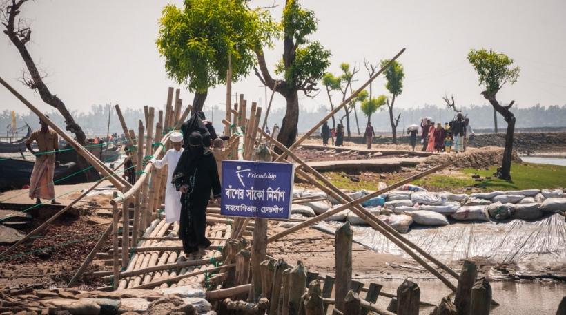 Flüchtlingscamp am Bangladesch.