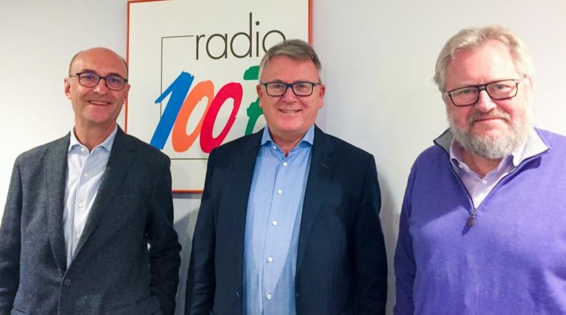 Michel Wurth, Nicolas Schmit, Jean-Claude Reding