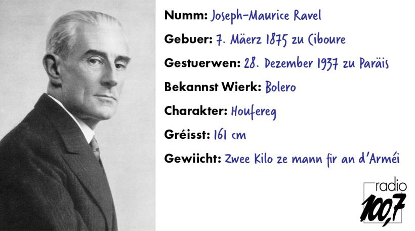 Ravel-Streckbréif