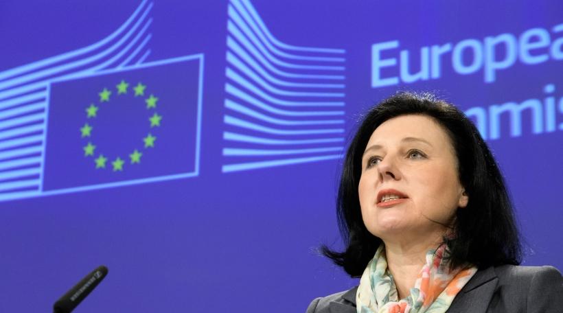 Vĕra Jourová EU-Kommissärin