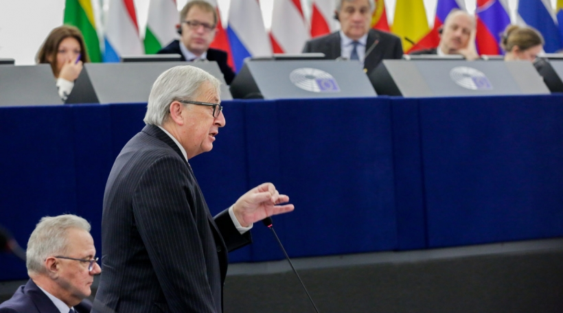 Jean-Claude Juncker am Europaparlament